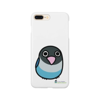 LOVEBIRD BOTAN 前向き Smartphone cases