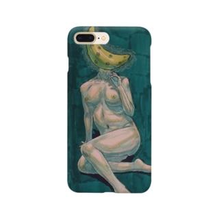 三日月の婀娜 Smartphone cases