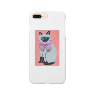 シャムネコちゃん Smartphone cases