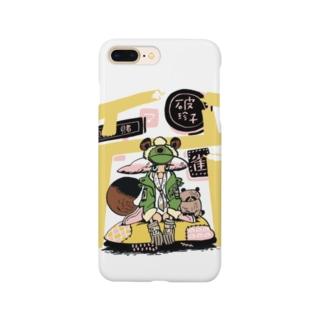貧乏たぬきちゃん Smartphone cases