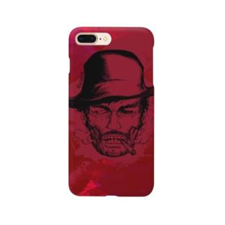 縛り首の保安官、血塗れver. Smartphone cases