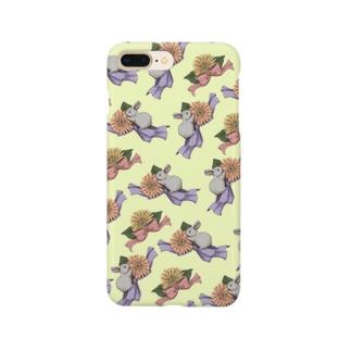 仔ウサギとガーベラシリーズ Smartphone cases