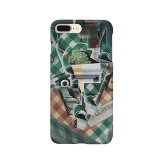 フアン・グリス 《チェックのテーブルクロスのある静物》 Smartphone Case