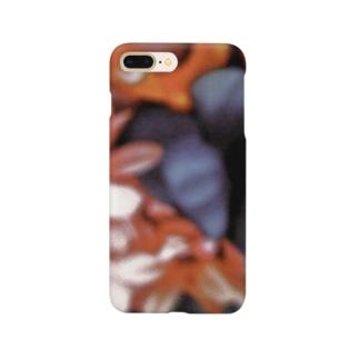 花柄2 Smartphone cases