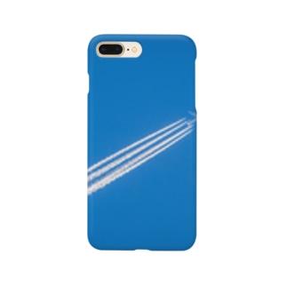 飛行機雲 Aerial cloud Smartphone cases