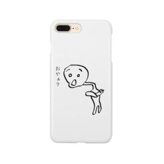 おやぁ? Smartphone cases