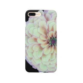 薄紫の花 Smartphone cases