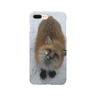 キュートなキツネさんシリーズ Smartphone cases