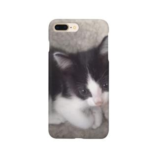 おすまし猫 テールくん Smartphone cases