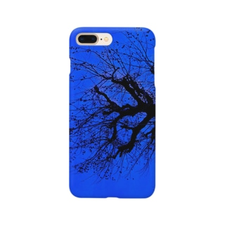 CONTRASTの寒い日と樹 Smartphone cases