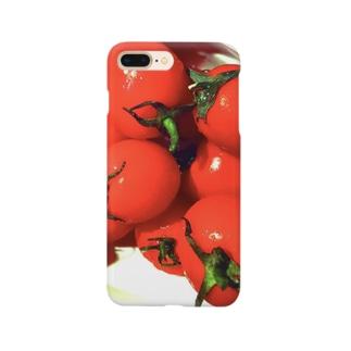 CONTRASTのTOMATO Smartphone cases