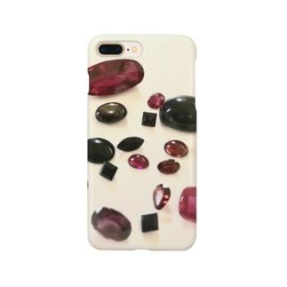花霞・紅 Smartphone cases