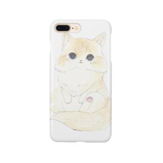 おすわりねこ Smartphone cases