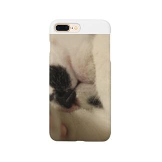 眠たいごはんくん Smartphone cases
