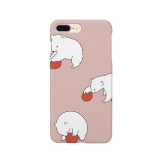 ホッキョクグマ Smartphone cases