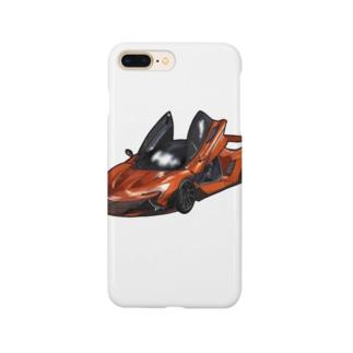 クルマのイラスト Smartphone cases
