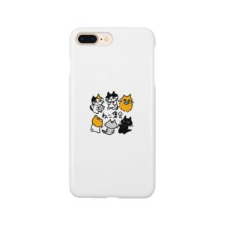 ねこ集会 Smartphone cases