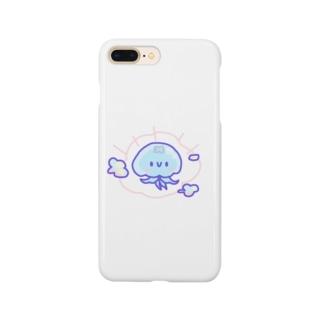 やさしいミズクラゲ Smartphone cases