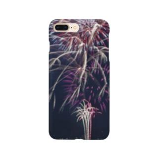 夏の花火〜fireworks〜 Smartphone cases
