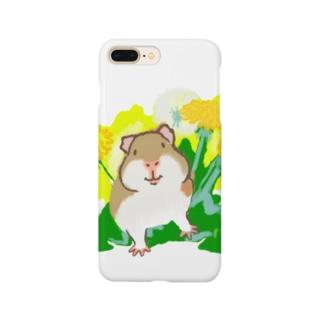 たんぽぽとモルモット Smartphone cases