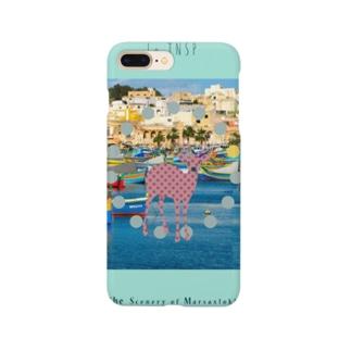 The Scenery of Marsaxlokk Smartphone cases