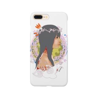 アメリカ大陸の少女A Smartphone cases