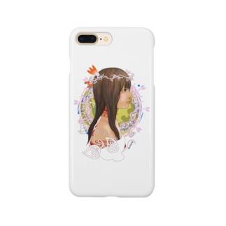 アメリカ大陸の少女B Smartphone cases