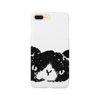 シロクロぬこ Smartphone cases