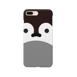 コウテイペンギンのひな Smartphone cases