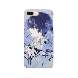 桔梗くん Smartphone cases