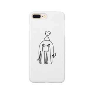のびー Smartphone cases