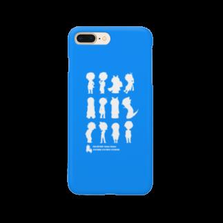 ツクールブルー スマートフォンケース