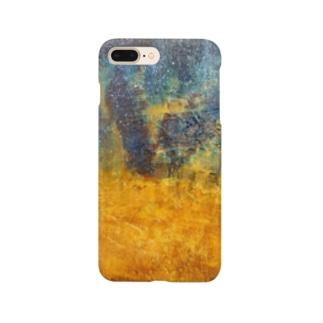 黄金砂粒の漂い Smartphone cases