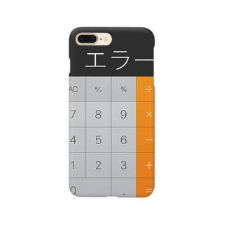 まじエラー卍 Smartphone cases