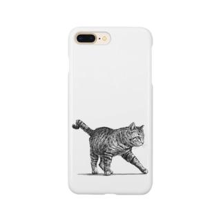 【野良猫の行進】 Smartphone cases