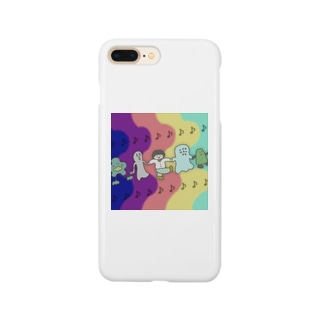 ぼんじりの雑貨やさんの🎶みんななかよし🎶 Smartphone cases