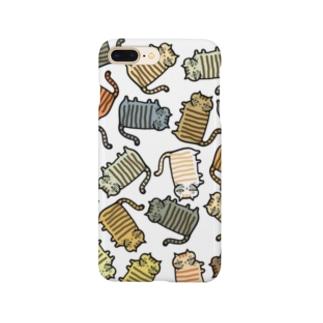 いろいろなしましまねこ Smartphone cases