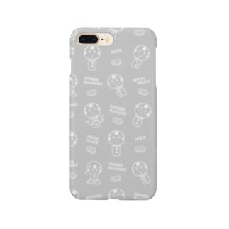 仙台弁こけしパターン Smartphone cases