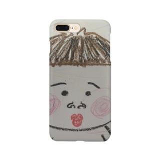 ポンちゃん Smartphone cases