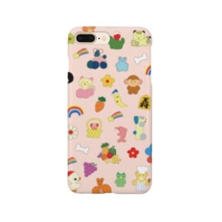 おしゃれフォン(ピンク) Smartphone cases
