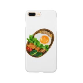 リアルなお弁当 Smartphone cases