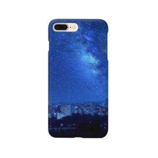 星の降る街 Smartphone cases