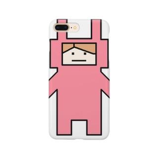 うさぴょん Smartphone cases