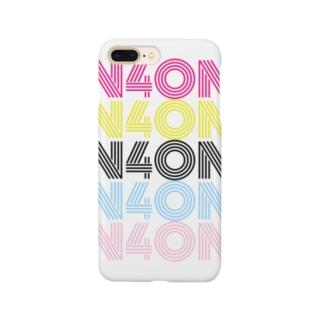 超おしゃれN4ONロゴ入りデザインスマホケース【N4ONグッズ】 Smartphone cases