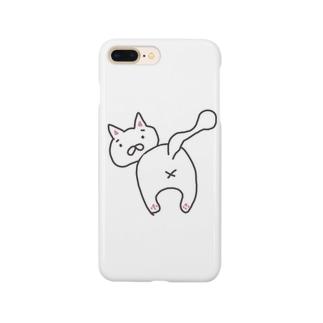 はずかしいねこ Smartphone cases