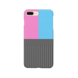和柄(キラキラカラー) Smartphone cases