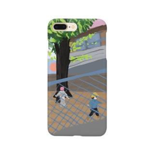 公園の少年 Smartphone cases