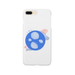シンプルなミズクラゲ Smartphone cases