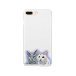 ラムちゃんノアちゃん Smartphone cases