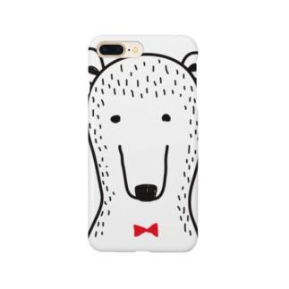 ブツブツなクマさん Smartphone cases